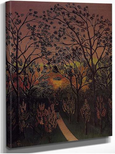 Corner Of The Plateau Of Bellevue 1902 By Henri Rousseau