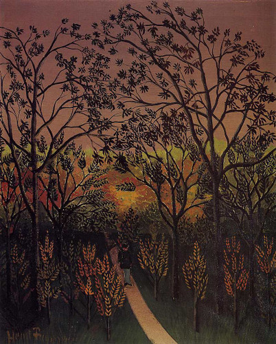 Corner Of The Plateau Of Bellevue 1902 By Henri Rousseau Art Reproduction from Wanford