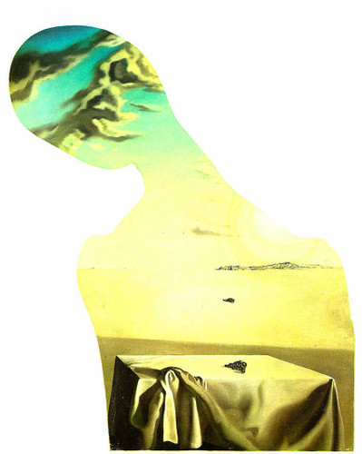 Couple With Clouds In Their Heads Woman By Salvador Dali Art Reproduction from Wanford