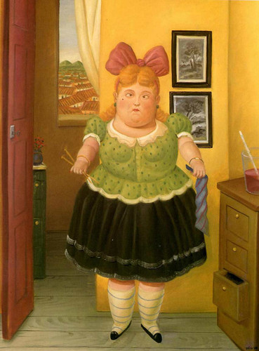 Courturier By Fernando Botero Art Reproduction from Wanford