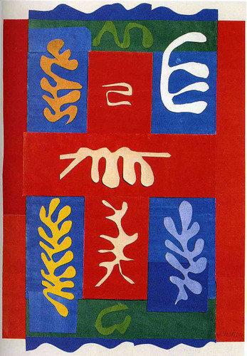 Cut Outs 4 By Henri Matisse Art Reproduction from Wanford
