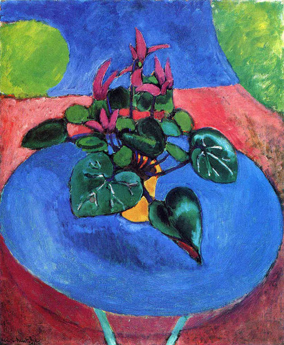 Cyclamen Pourpre 1912 By Henri Matisse Art Reproduction from Wanford