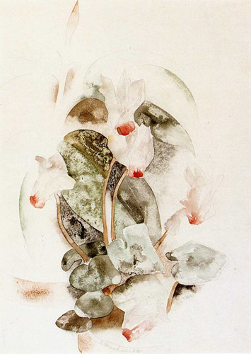 Cyclamen1 By Charles Demuth Art Reproduction from Wanford