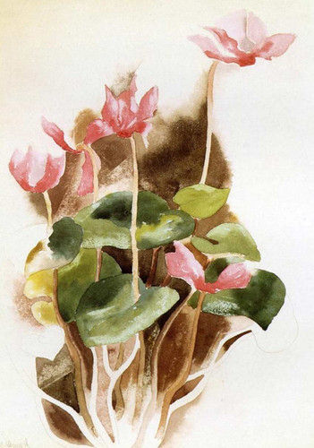 Cyclamen By Charles Demuth Art Reproduction from Wanford
