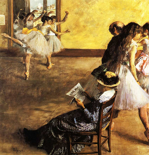 Ballet Class The Dance Hall 1880 By Edgar Degas Art Reproduction from Wanford.