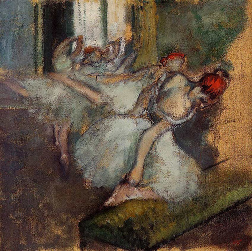 Ballet Dancers By Edgar Degas Art Reproduction from Wanford.