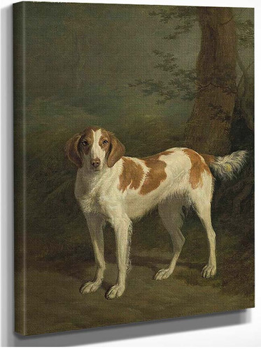 Dash A Setter In A Wooded Landscape By Jacques Laurent Agasse