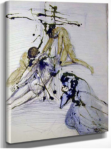 De Cruce Depositio 1967 By Salvador Dali