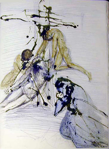 De Cruce Depositio 1967 By Salvador Dali Art Reproduction from Wanford