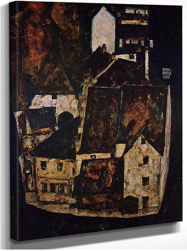 Dead City City On The Blue River 1911 By Egon Schiele