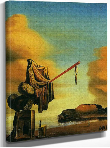 Dreams On A Beach By Salvador Dali
