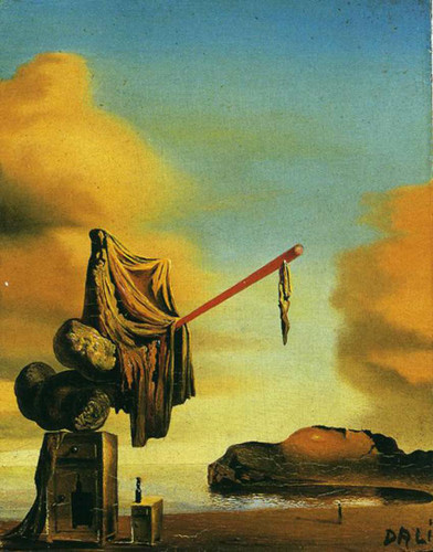 Dreams On A Beach By Salvador Dali Art Reproduction from Wanford