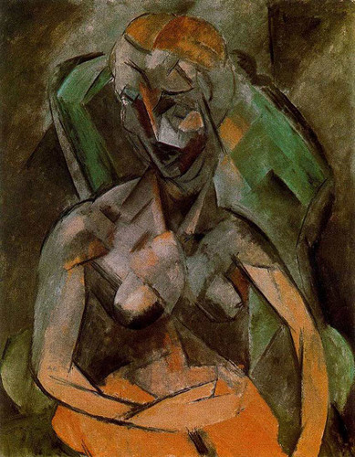 Female Nude By Pablo Picasso Art Reproduction from Wanford