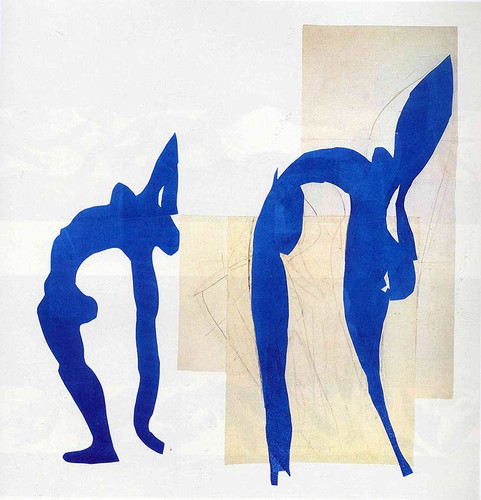 Blue Nudes By Henri Matisse Art Reproduction from Wanford.