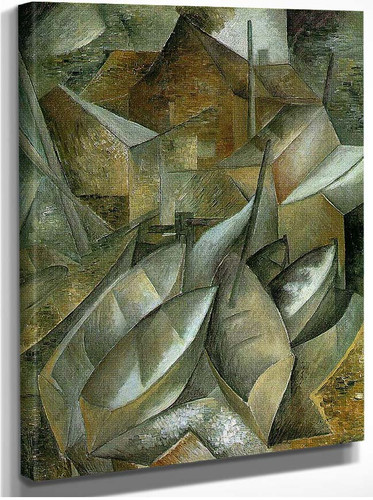 Fishing Boats By Georges Braque