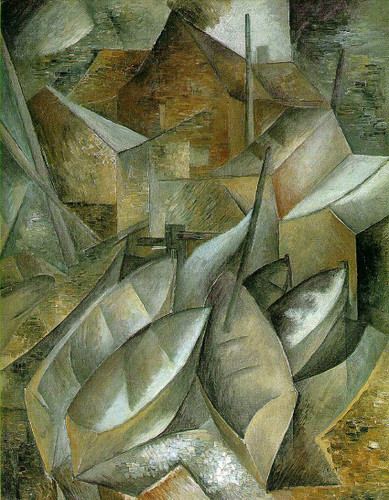 Fishing Boats By Georges Braque Art Reproduction from Wanford