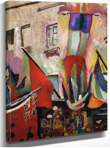 Flags 1906 By Dufy Raoul