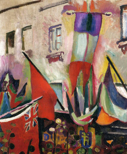 Flags 1906 By Dufy Raoul Art Reproduction from Wanford