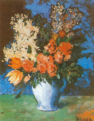 Floral Still Life By Pablo Picasso Art Reproduction from Wanford