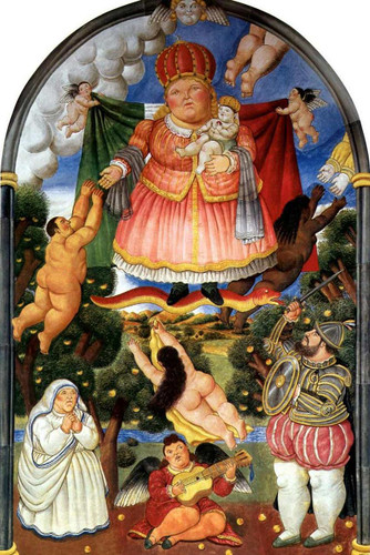 Gate Of Heaven By Fernando Botero Art Reproduction from Wanford