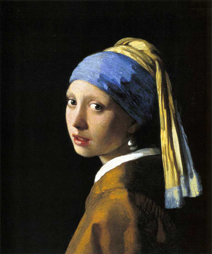 Girl With A Pearl Earring By Vermeer Johannes Art Reproduction from Wanford