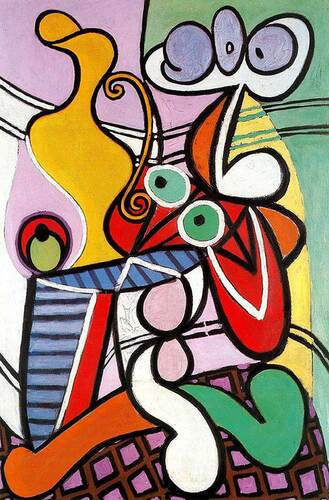 Great Still Life On Pedestal 1931 By Pablo Picasso Art Reproduction from Wanford