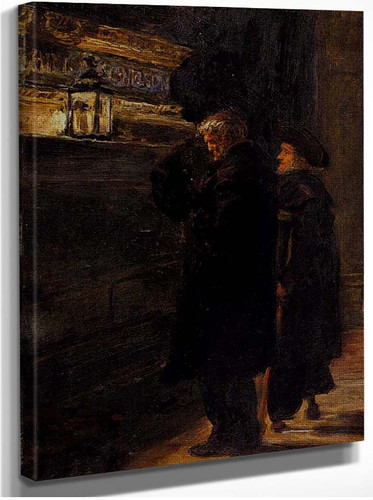 Greenwich Pensioners At The Tomb Of Nelson By John Everett Millais