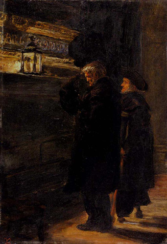 Greenwich Pensioners At The Tomb Of Nelson By John Everett Millais Art Reproduction from Wanford