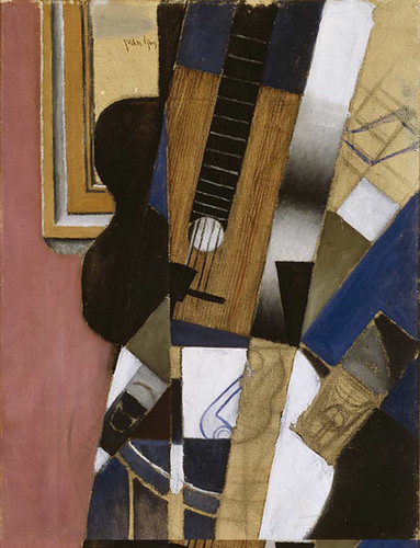 Guitar And Pipe 1913 By Juan Gris Art Reproduction from Wanford