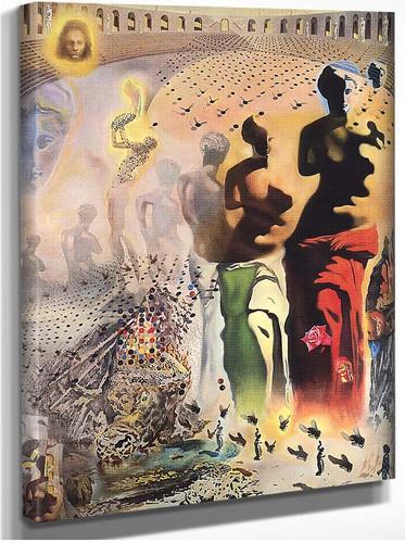 Hallucinogenic Toreador 1970 By Salvador Dali
