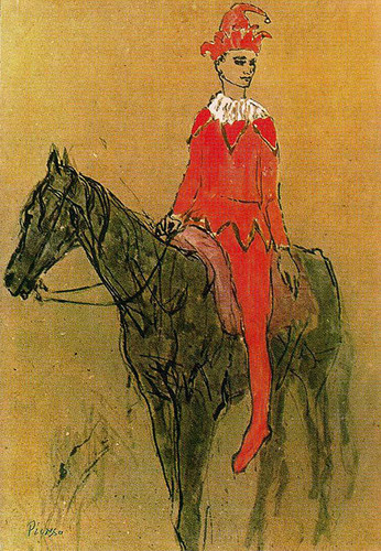 Harlequin On The Horseback 1905 By Pablo Picasso Art Reproduction from Wanford