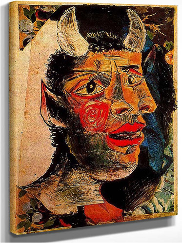 Head 1 By Pablo Picasso