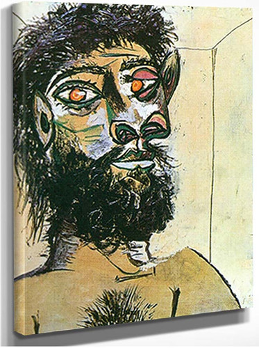Head Of A Faun By 1 By Pablo Picasso