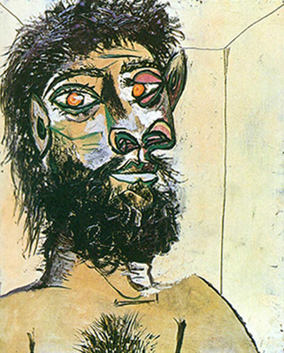 Head Of A Faun By 1 By Pablo Picasso Art Reproduction from Wanford