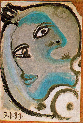 Head Of A Woman 1939 By Pablo Picasso Art Reproduction from Wanford