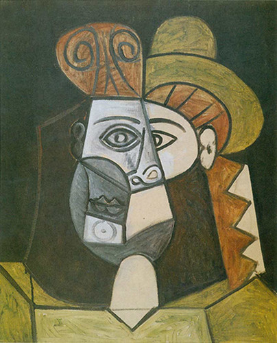 Head Of A Woman By Pablo Picasso Art Reproduction from Wanford