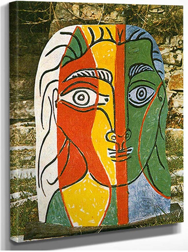Head Of A Woman By Pablo Picasso By 1