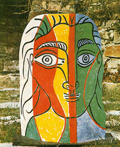 Head Of A Woman By Pablo Picasso By 1 Art Reproduction from Wanford