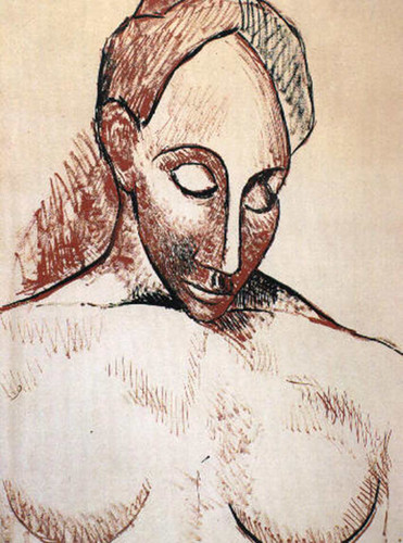 Head Of Woman By Pablo Picasso Art Reproduction from Wanford