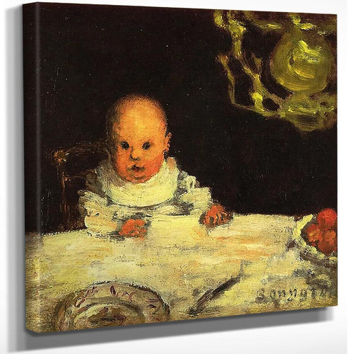 Child At Table 1893 By Pierre Bonnard Art Reproduction from Wanford.