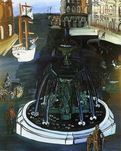 Homage To Claude Lorrain 1927 By Dufy Raoul Art Reproduction from Wanford