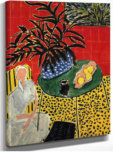 Interior With Black Fern 1948 By Henri Matisse