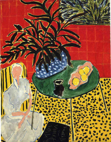 Interior With Black Fern 1948 By Henri Matisse Art Reproduction from Wanford