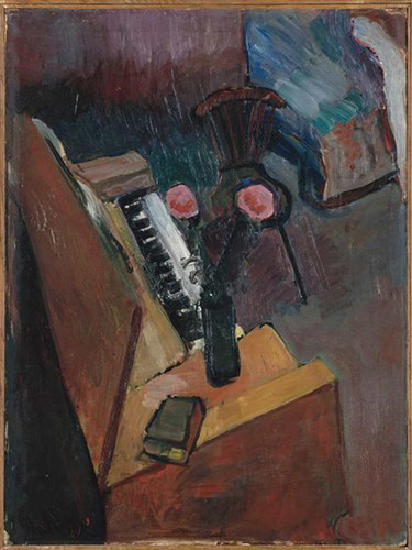 Interior With Harmonium By Henri Matisse Art Reproduction from Wanford