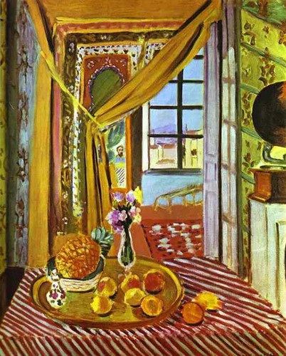 Interior With Phonograph By Henri Matisse Art Reproduction from Wanford