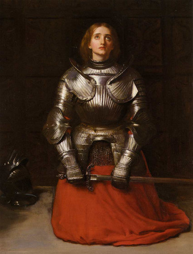 Joan Of Arc By John Everett Millais Art Reproduction from Wanford