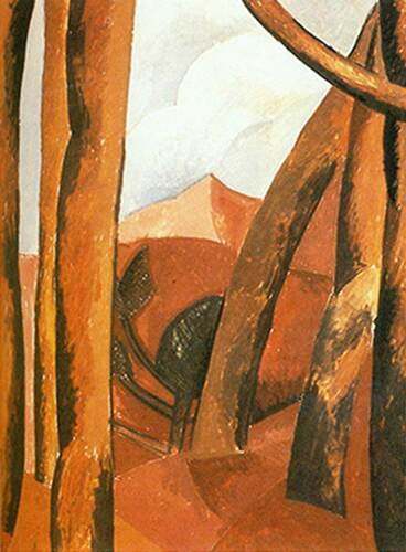 Landscape By Pablo Picasso Art Reproduction from Wanford