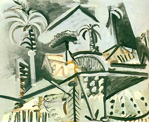 Landscape By Pablo Picasso