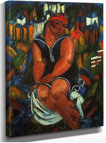Large Bather 1914 By Dufy Raoul