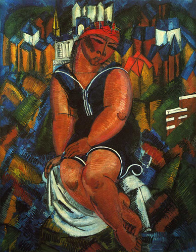 Large Bather 1914 By Dufy Raoul Art Reproduction from Wanford